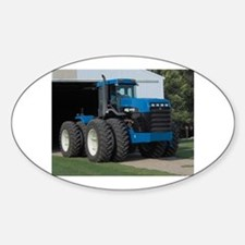 Ford New Holland 4 wd tractor Oval Decal