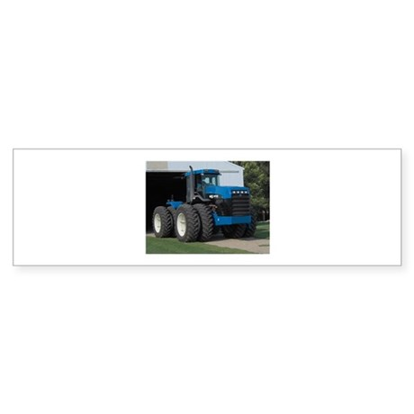 Ford New Holland 4 wd tractor Bumper Sticker