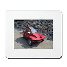 Red Freeway Mini Car Mousepad
