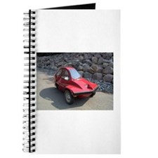 Red Freeway Mini Car Journal