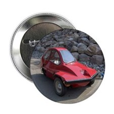 "Red Freeway Mini Car 2.25"" Button"