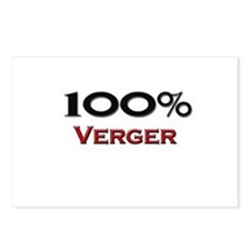 100 Percent Verger Postcards (Package of 8)
