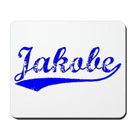 Vintage Jakobe (Blue) Mousepad