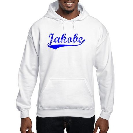 Vintage Jakobe (Blue) Hooded Sweatshirt