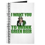 Uncle Sam Green Beer Journal