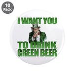 Uncle Sam Green Beer 3.5
