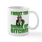 Uncle Sam Drink Up Bitches Mug