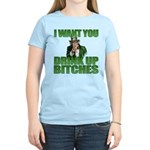 Uncle Sam Drink Up Bitches Women's Light T-Shirt
