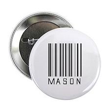 "Mason Barcode 2.25"" Button (10 pack)"