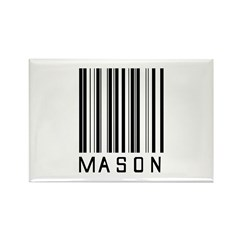 Mason Barcode Rectangle Magnet (100 pack)