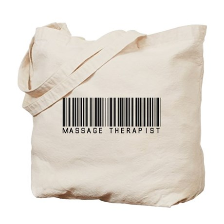 Massage Therapist Barcode Tote Bag