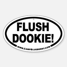Flush Dookie Oval Decal