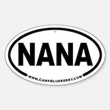 Nana Oval Decal