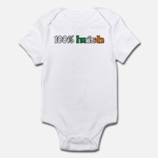 100% Irish Infant Bodysuit