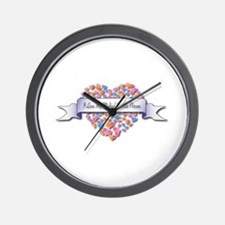 Love My Medical Records Person Wall Clock