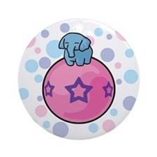 Elephantastic Ornament (Round)