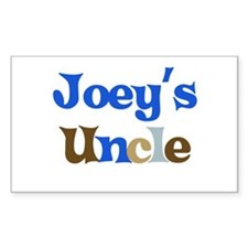 Joey's Uncle Rectangle Decal