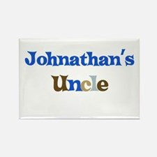Johnathan's Uncle Rectangle Magnet