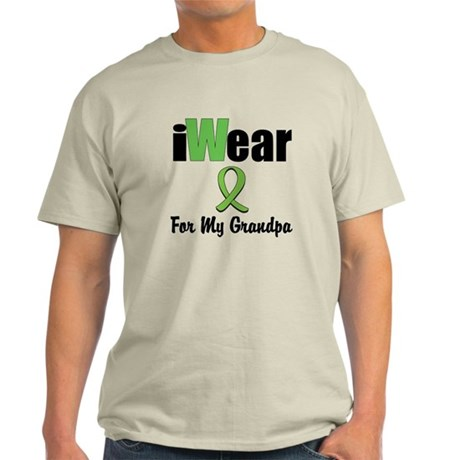 I Wear Lime Grandpa Light T-Shirt