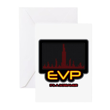 EVP - It's A Screamer Greeting Cards (Pk of 10)