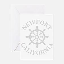 Summer newport- california Greeting Cards