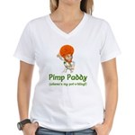 Pimp Paddy Women's V-Neck T-Shirt