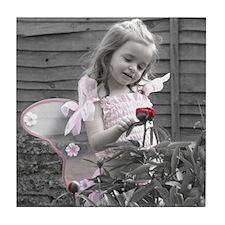 Little Pink Fairy Tile Coaster