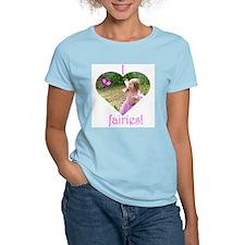 Little Pink Fairy Women's Pink T-Shirt