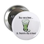 "Buy me a Beer 2.25"" Button (100 pack)"