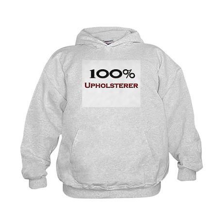 100 Percent Upholsterer Kids Hoodie