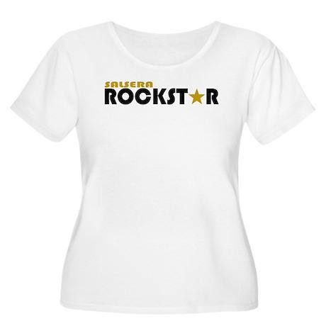 Salsera Rockstar 2 Women's Plus Size Scoop Neck T-