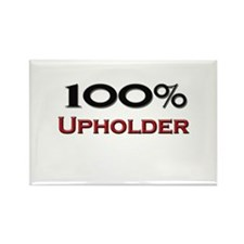 100 Percent Upholder Rectangle Magnet