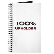 100 Percent Upholder Journal