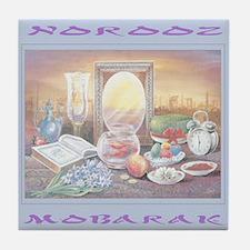 Norooz Mobarak Tile Coaster