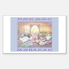 Norooz Mobarak Rectangle Decal