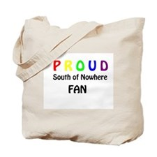 Funny South of nowhere Tote Bag