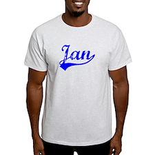 Vintage Jan (Blue) T-Shirt