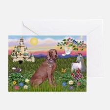 The Kings Weimaraner Greeting Cards (Pk of 10)
