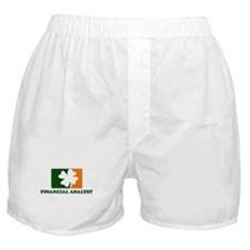 Irish FINANCIAL ANALYST Boxer Shorts