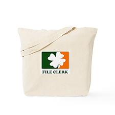 Irish FILE CLERK Tote Bag