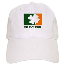 Irish FILE CLERK Baseball Cap
