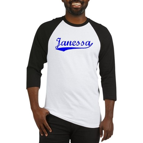 Vintage Janessa (Blue) Baseball Jersey