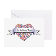Love My Massage Therapist Greeting Card