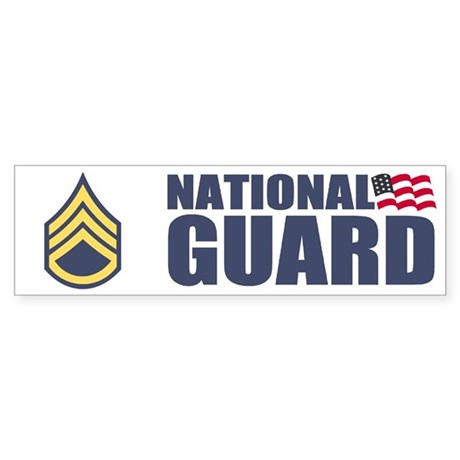 Staff Sergeant Bumper Sticker 1NG