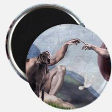 Weimaraner Creation Magnet