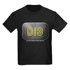 Yankee 013 Kids Black T-Shirt
