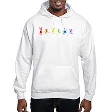 Dancing Women Hoodie Sweatshirt