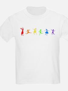 Dancing Women Kids T-Shirt