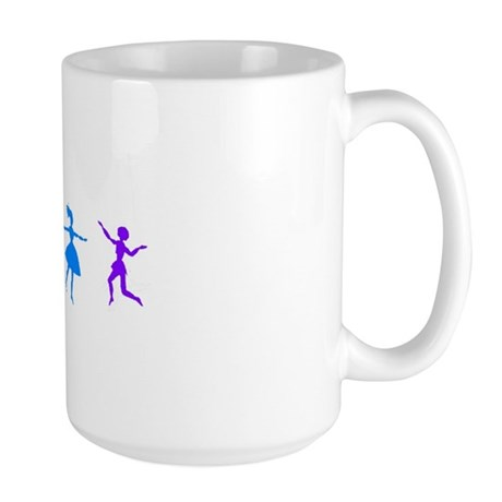 Dancing Women Large Mug