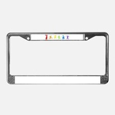 Dancing Women License Plate Frame